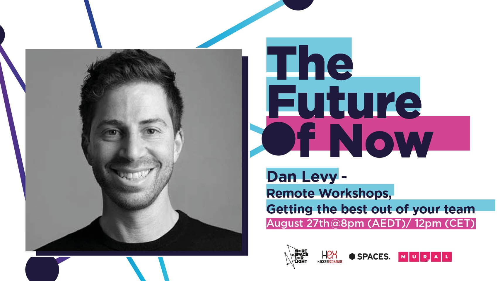 Remote Workshops, Getting the best out of your team with Dan Levy